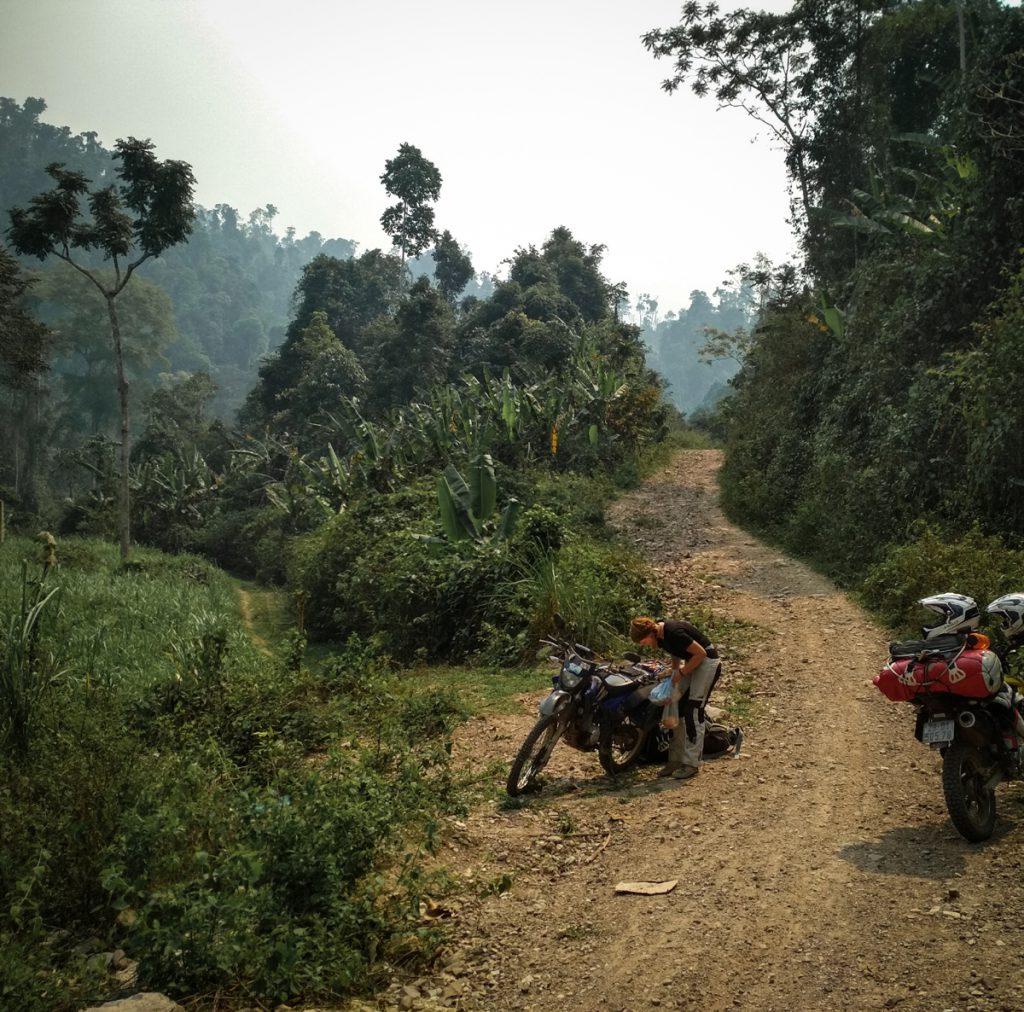 Mit der Problem-Yamaha auf Motorradtour durch Asien.
