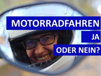 Sabines Motorradkolumne - Motorradfahren ja oder nein