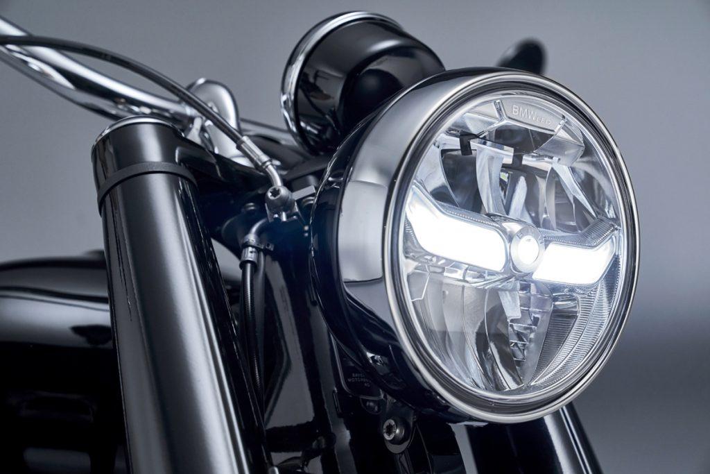 LED Scheinwerfer an der BMW R 18