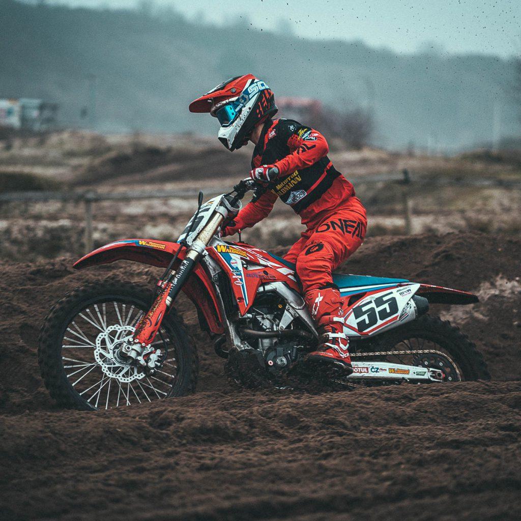 Kim Irmgartz Motocross Nr 55. Bild: Rick Parker Motografie