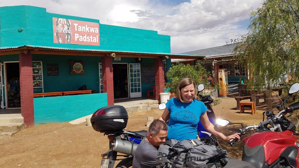 Reifecheck am Padstal in Suedafrika.