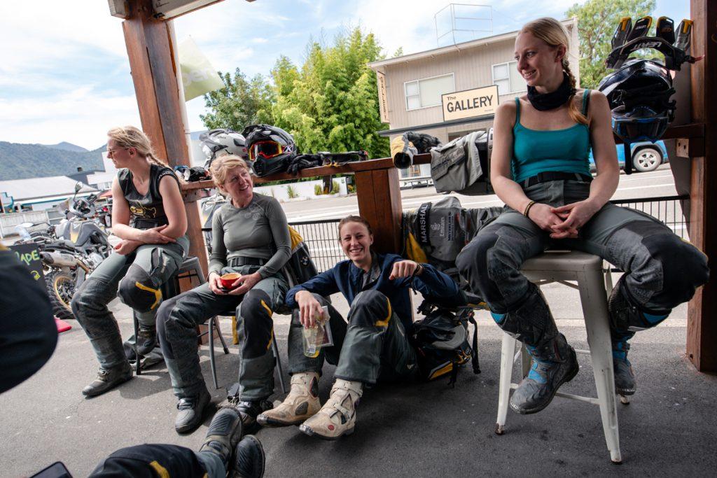 BMW GS Trophy Damenteam Pause