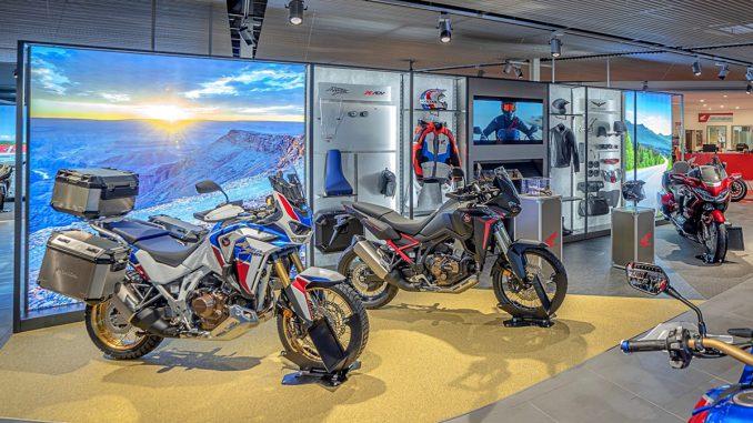 Honda Dream Dealer mit Erlebniswelt Africa Twin