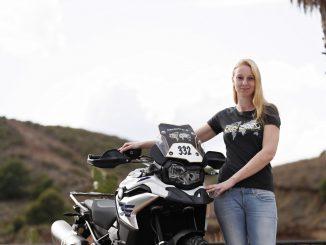 Motorradfahren mit Nikki bei den GS Trophy Qualifier 2019