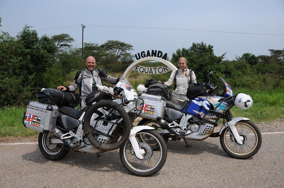 Motorrradfahren von Holland nach Südafrika