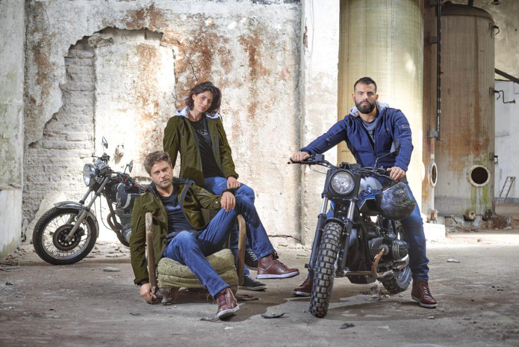 Frauen-Motorradjacke von iXS gibt es auch für Männer und Hipster.