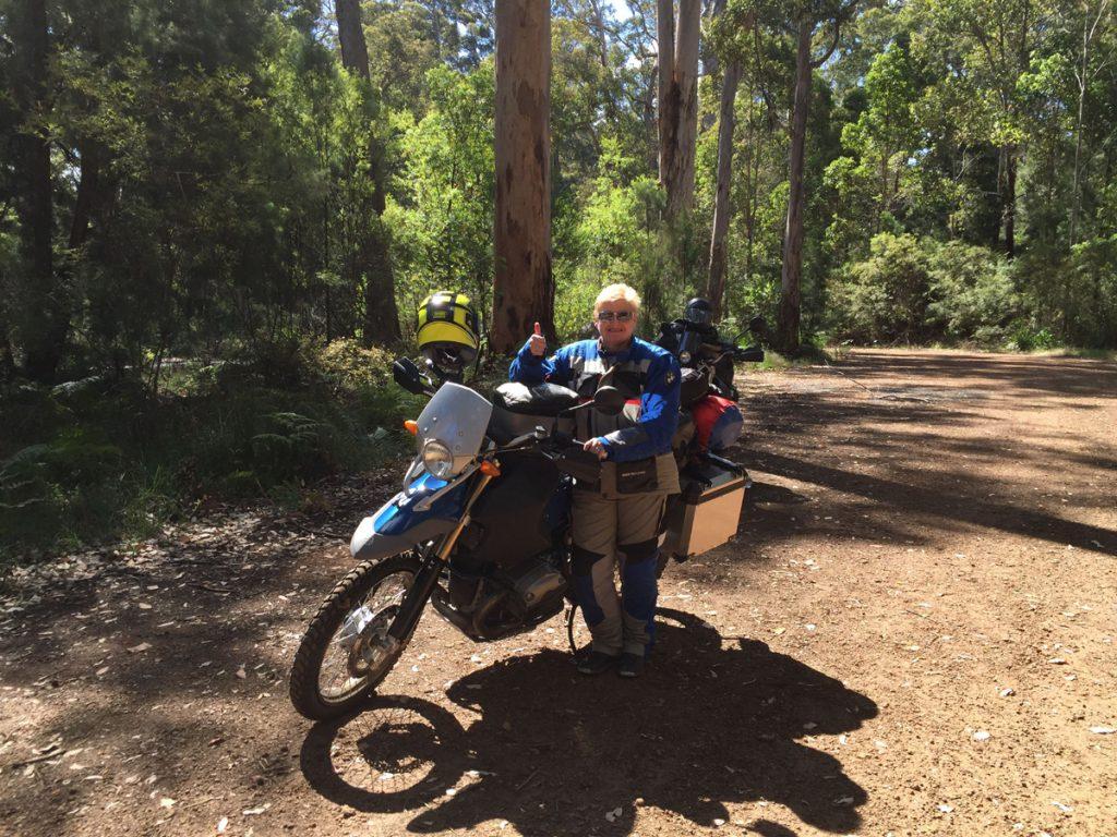 Motorradtour durch Australien.