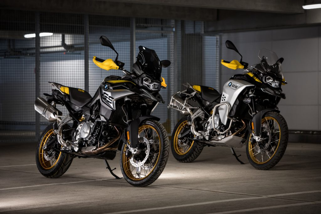 BMW F850GS und F 850 GS Adventure im Design Edition 40 Years GS