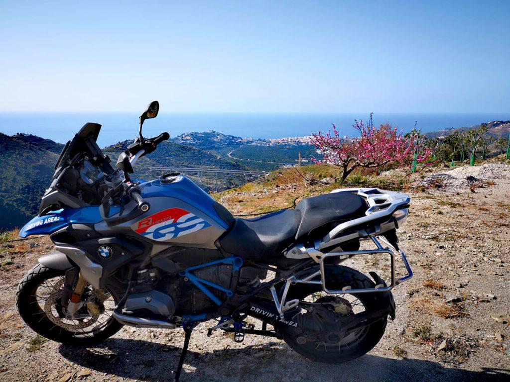 BMW GS im Offorad Paradies Andalusien, Spanien