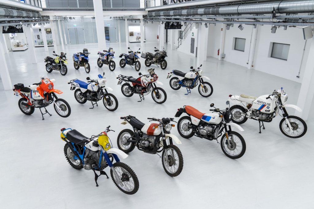 BMW GS Motorräder auf einem Bild