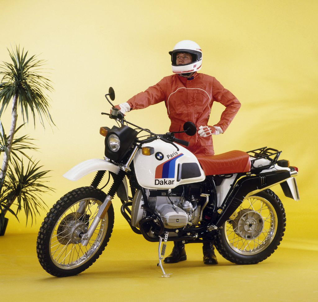 BMW GS feiert 40 Jahre Geburtstag