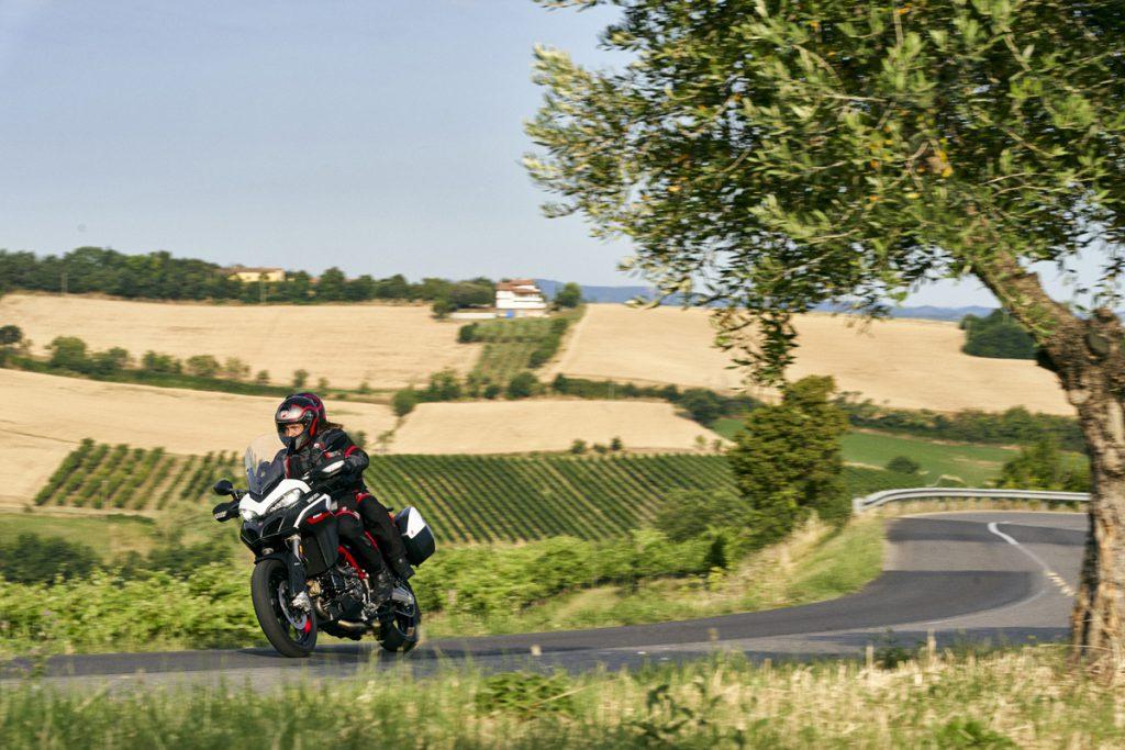 Mit der neuen Ducati Multistrada 950S durch die Emilia Romagna.