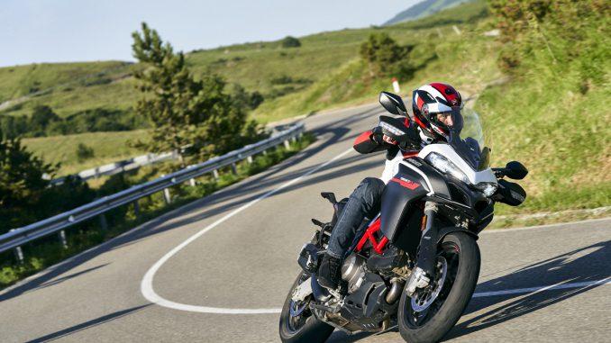 Die Ducati Multistrada 950S Modelljahr 2021