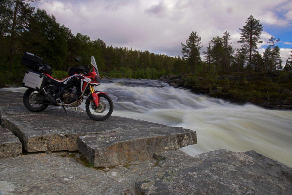 Honda Adventure Rides Tour mit der Africa Twin durch Island