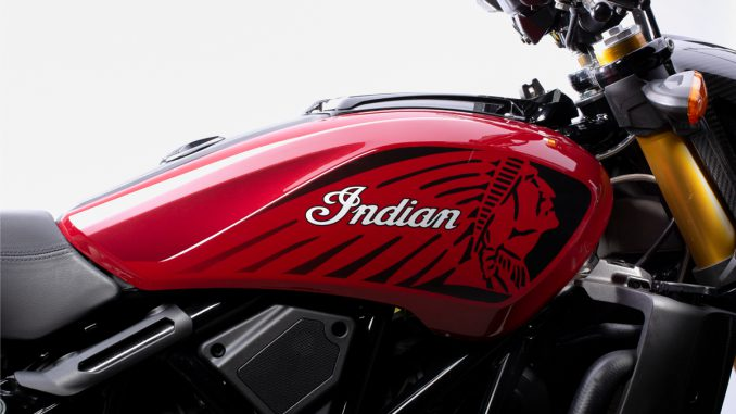 Robert Sands Design für die Indian FTR 1200