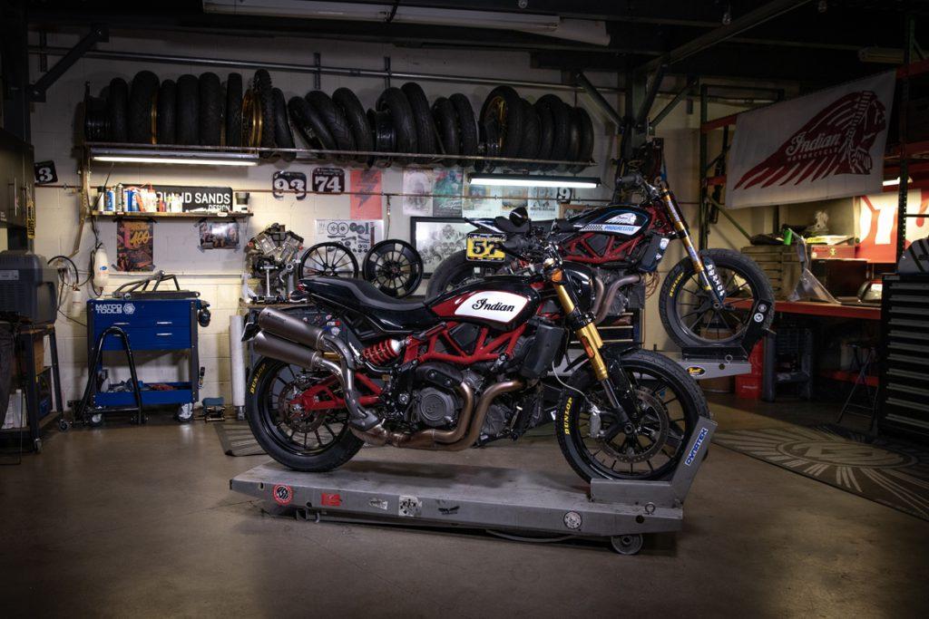 Indian FTR 1200 Werkstatt