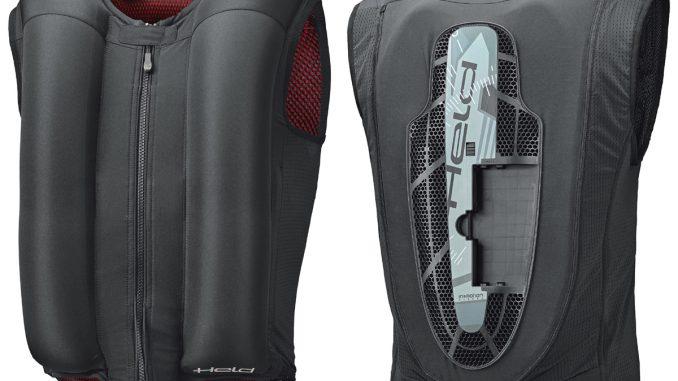 Airbag-Weste von Held eVest flexibel für viele Motorradjacken