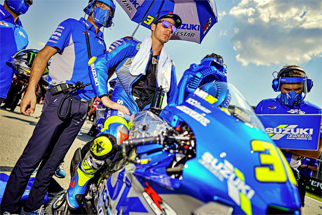 Joan Mir auf Suzuki GSX-RR
