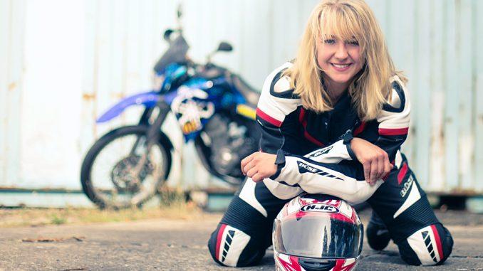 Jule und Diva, die Yamaha XT660 Bild: Dana Wagemann