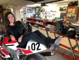RIDER of the Week Michelle in der Werkstatt