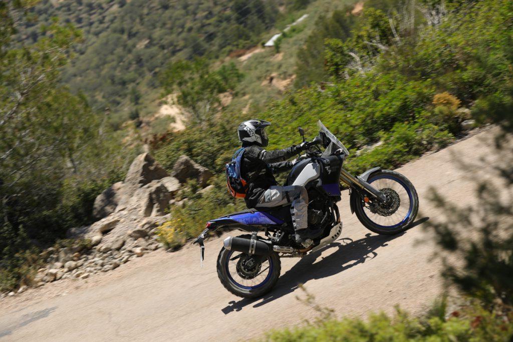 Endurohelm 208 2.0 von iXS mit Yamaha Tenere im Gelände