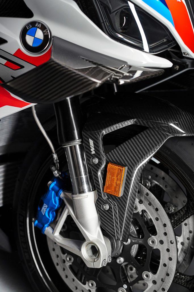 Carbon Räder undM Bremsen an der BMW RR
