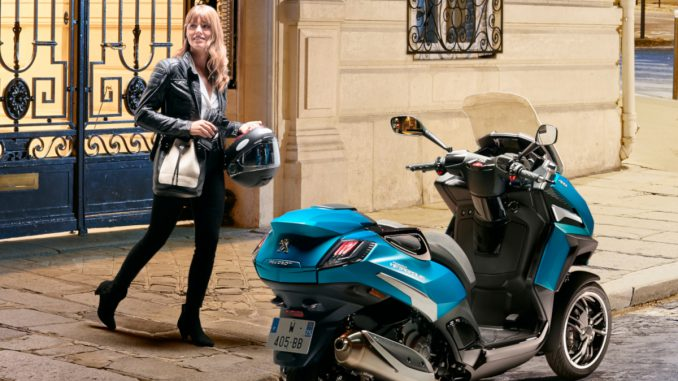Peugeot Dreiradroller Metropolis