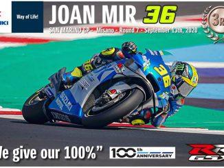 Joan Mir fährt in Misano aufs Podest in der Moto GP