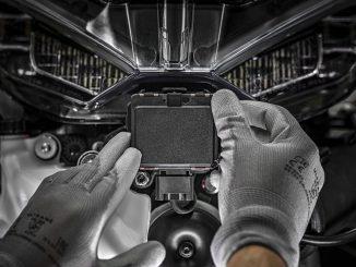 Radarsystem an der Ducati Multistrada V4 Front