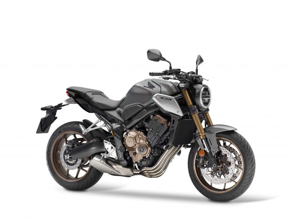 Die Honda CB650R für 2021 mit Showa Upside-Down-Gabel und vielen weiteren technischen Upgrades.