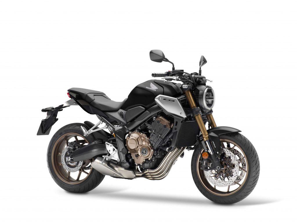 Honda CB 650 R für 2021 in schwarz