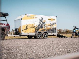 Humbaur Kofferanhänger für den Motorradtransport