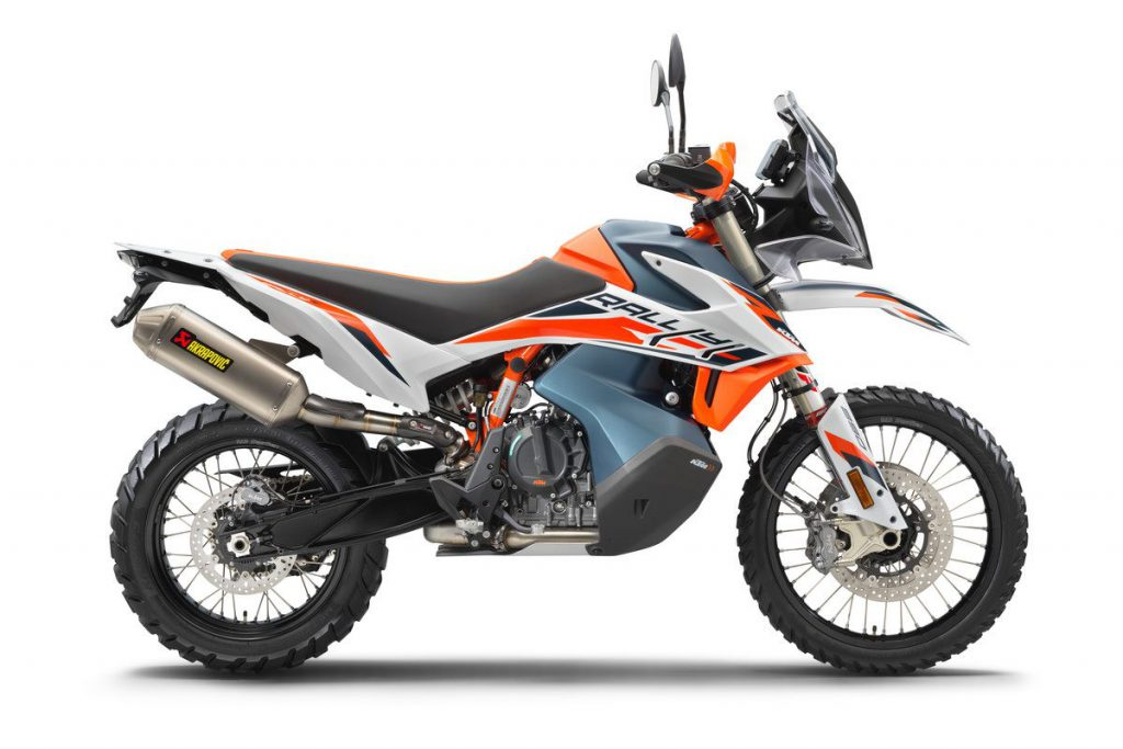 KTM 890 Adventure R Rally Profil