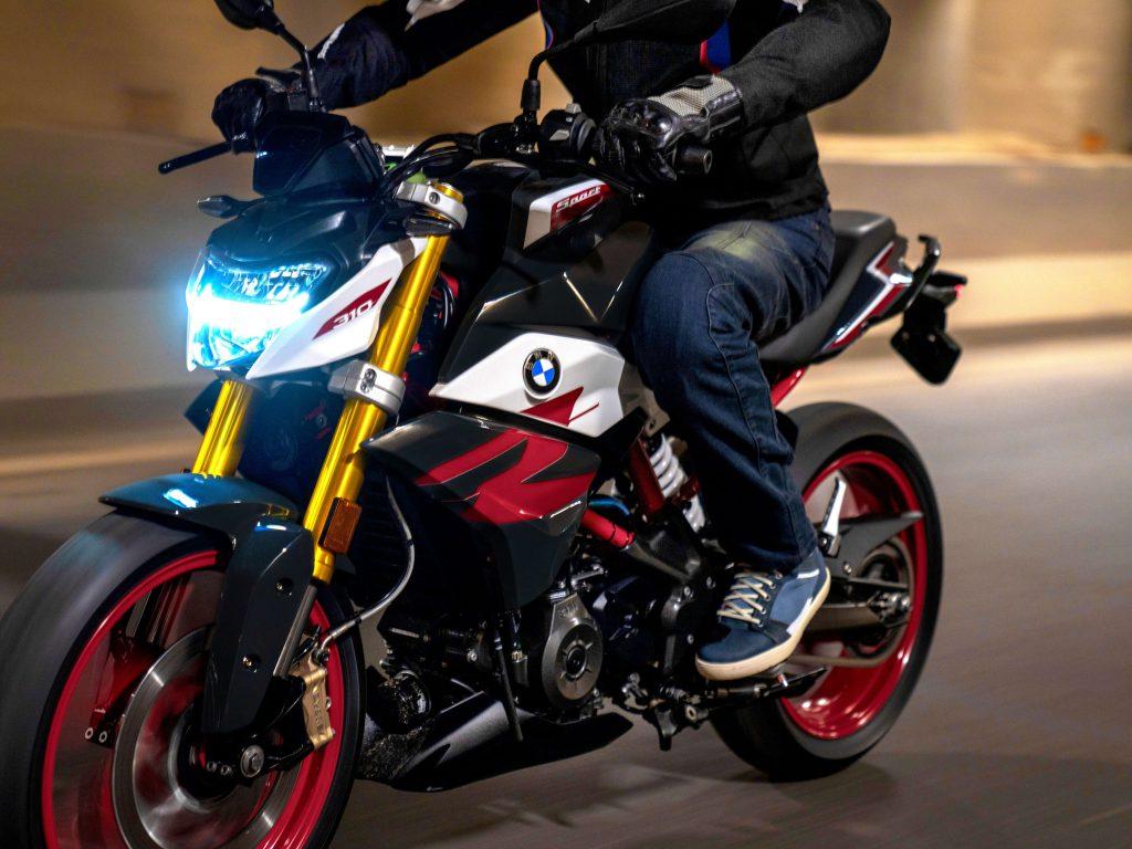 BMW G 310 R LED Scheinwerfer