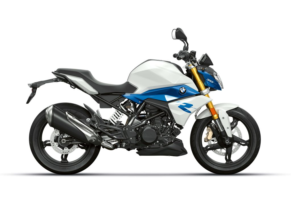 BMW G310R in Polarwhite