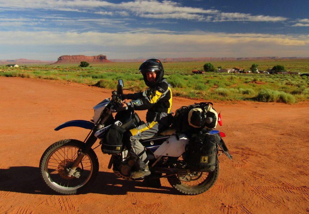 Monument Valley Suzuki Motorradtour USA