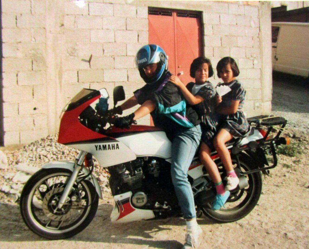 Yamaha Portugal 1990 mit Judy