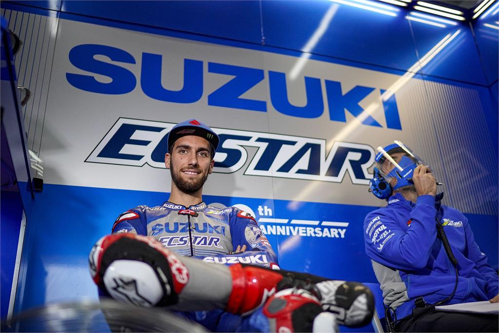 Alex Rins Suzuki Ecstar