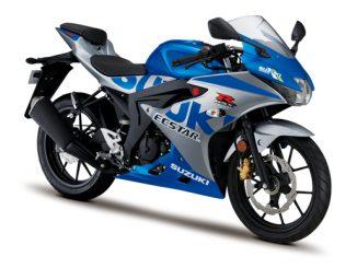 Suzuki R125 in blau für 2021