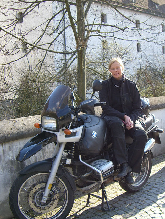 SHE is a RIDER - BMW GS