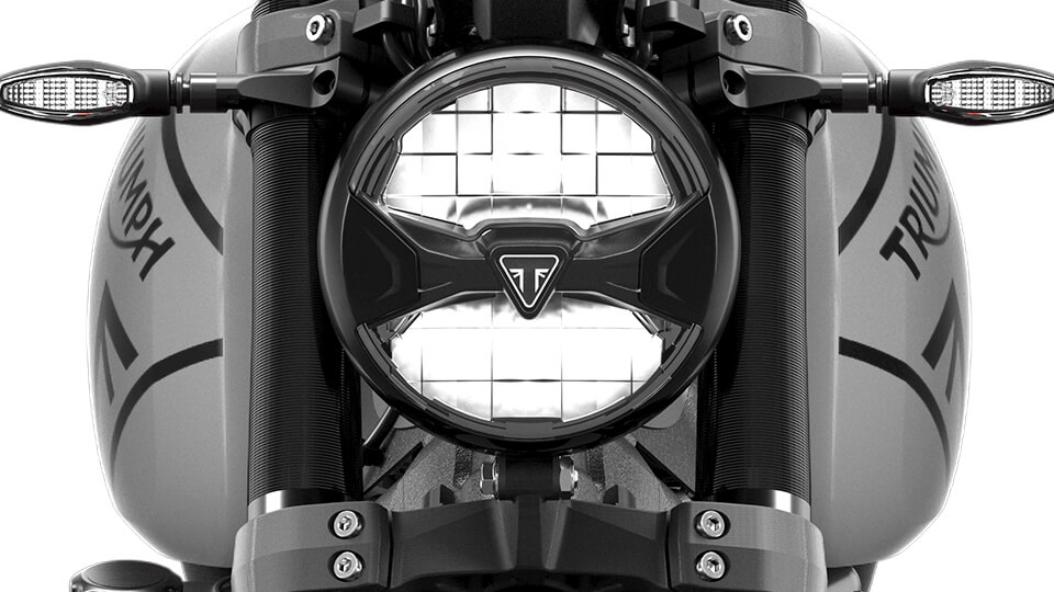 Triumph Trident 660 LED Beleuchtung