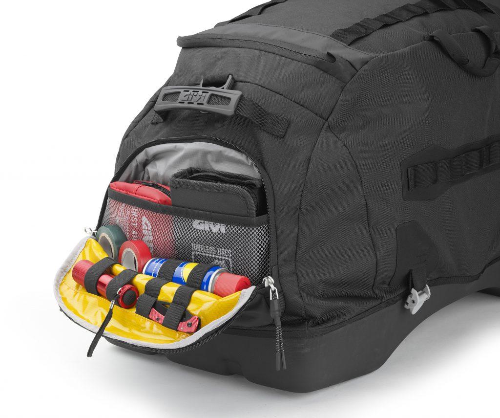 Mit den richtigen Motorradtaschen klappt's auch mit dem Gepäck auf Motorradreise. Wir haben die Givi Ultima-T Hecktasche getestet.