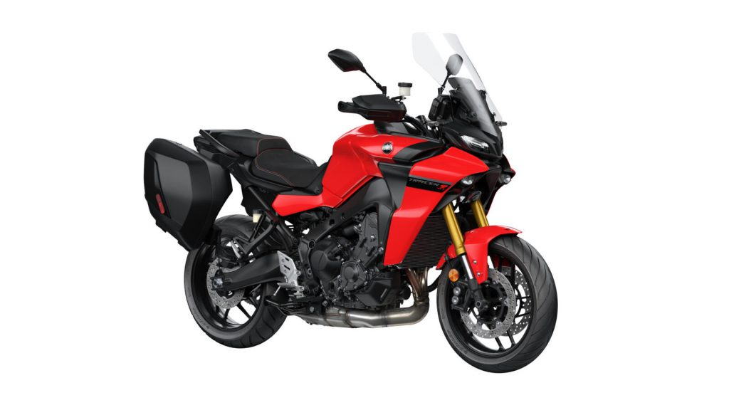 Yamaha Tracer 9 in rot