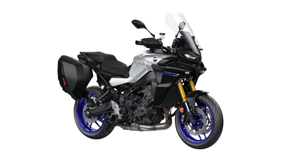 Yamaha Tracer in silber blau