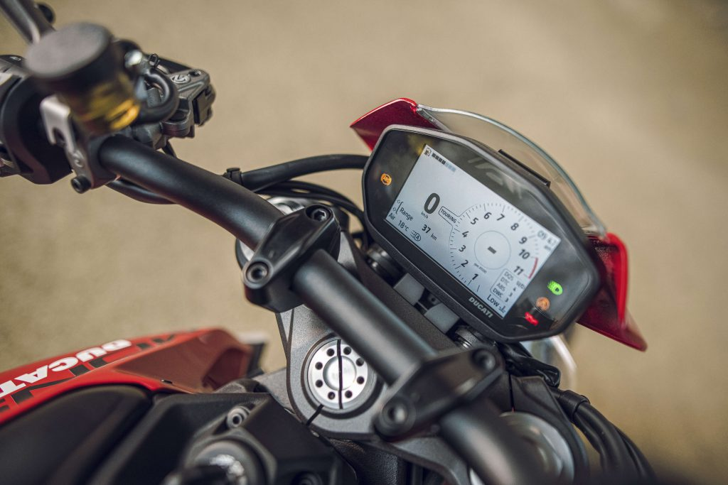 Ducati Monster TFT Display