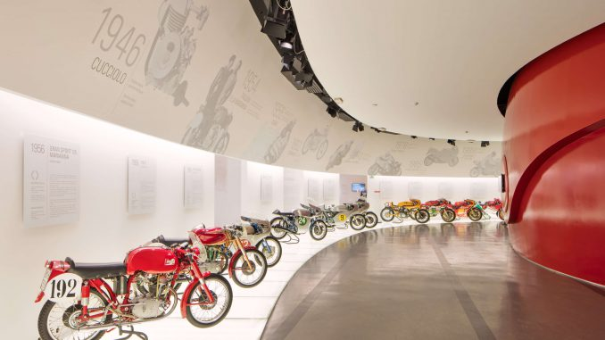 Ducati Museum Online Tour