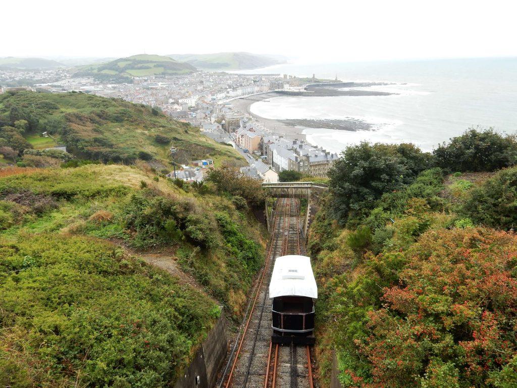 Aberystwyth Cliff Railway Zahnradbahn