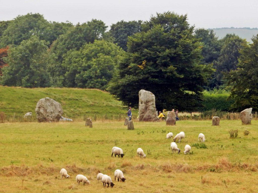 Monolithen in Avesbury