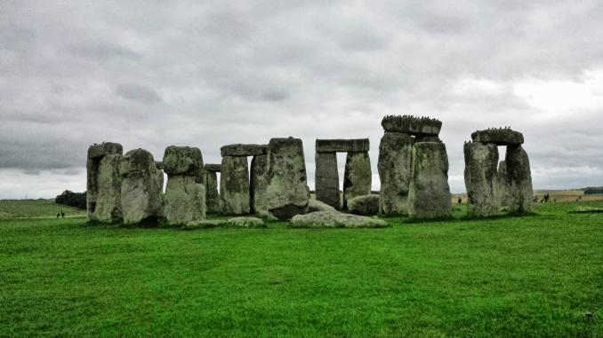 Motorradtour England Stonehenge