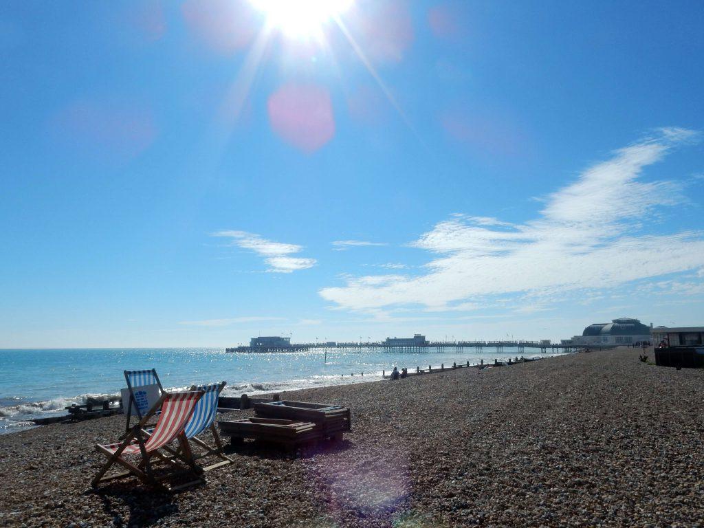 Brighton Strand Sonnenschein